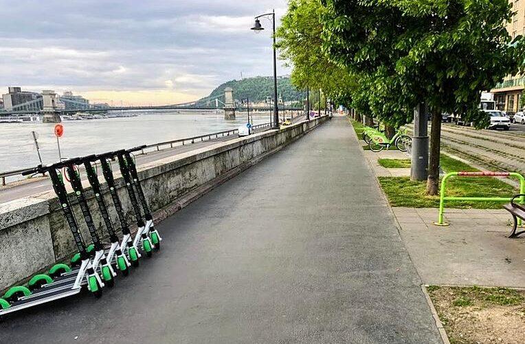 budapeşte-scooter-lime