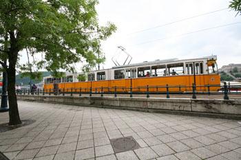 budapeşte şehir içi ulaşım tramvay