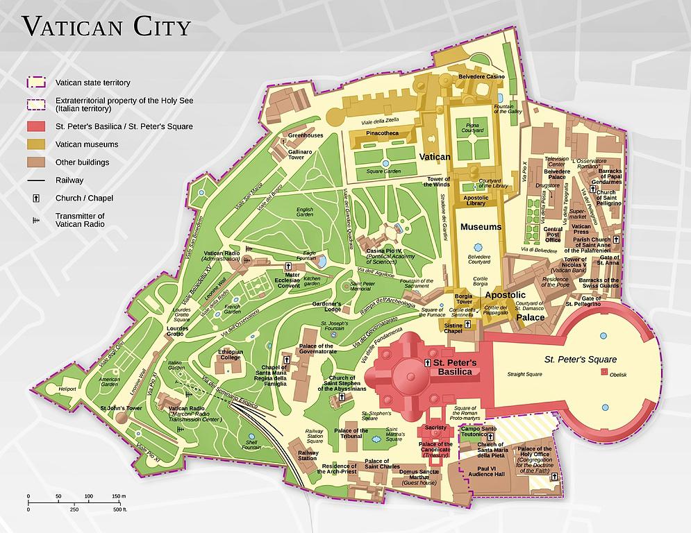 vatikan-sehri-haritasi